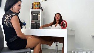 Lesbian Nylon Foot Fetish Lexis punished