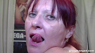 Kinky and nasty mature likes to play all sex games in a group