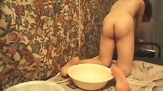This Japanese dick pleaser is as naughty as slut can be and she loves peeing