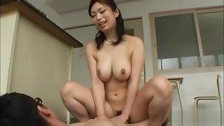 busty jap teacher fucks students