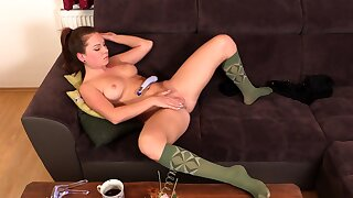 Thai Lez playng close to toys uncensored