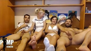 Foursome Chaturbate Swinger Couple Free Live Show