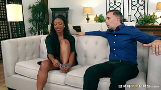 Ebony dreamboat soaks say no to face about the white man's load