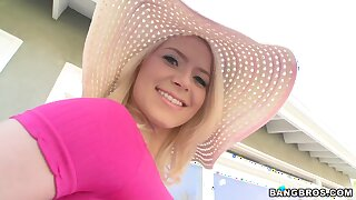 Nothing can please Anikka Albrite as A drooling on a fat pecker