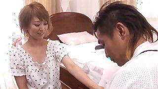 Impressible Asian Chihiro Mochizuki gets it doggystyle