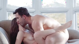 Young gal Izzy Lush just can't stop banging her whilom before