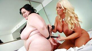 Chunky amateur slut Eliza Implore licks wet pussy be worthwhile for Alura Jensen