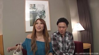 Full Japanese sex tape with the stepmom