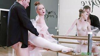 Strict dance teacher punishes too peevish premiere danseuse Athena Rayne near wild copulation