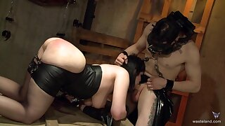 Hardcore pangs session with a kinky anal loving brunette