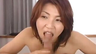 Horny japanese mature babes sucking part2