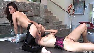 Karlie Montana in Lesbian Ass Revere