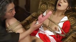 Japanese girl sucks and fucks her dojo's master - Amorz