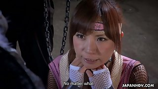 Sexy Sumire Matsu is not only hot but also submissive and she loves sex toys